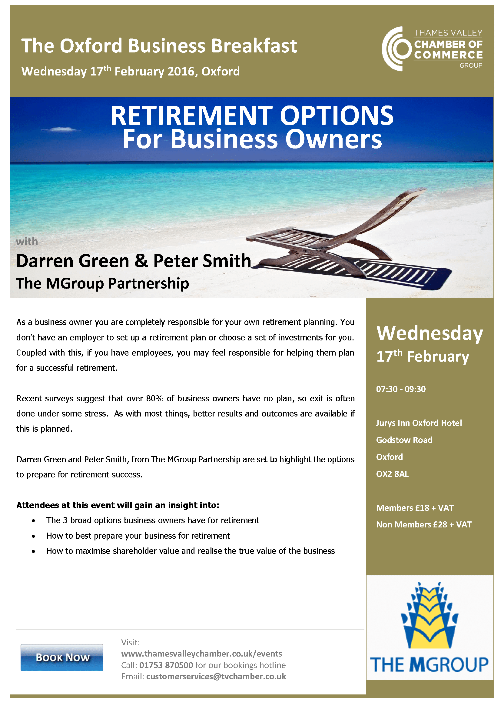 Retirement Option for Business Owners