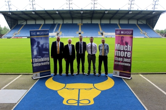 The MGroup support Oxford United FC