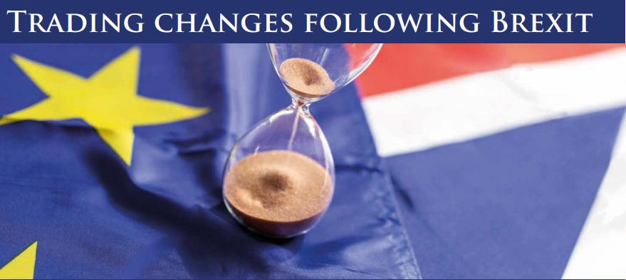 Image of EU flag and hour glass