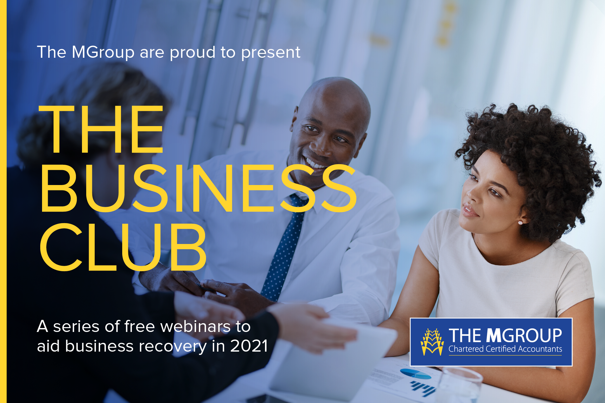 The Business Club advert